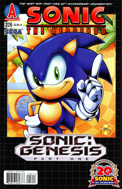 Cover Spotlight Sonic The Hedgehog 226 Spacebooger Com